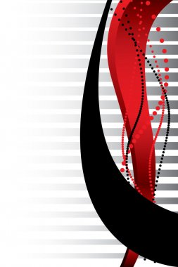 Red and black lines