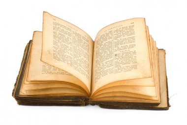 1886 years old Russian bible
