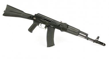 Russian rifle Kalashnikov ak74m stock vector