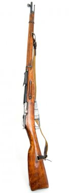 Antique russian rifle