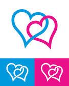srdce známky