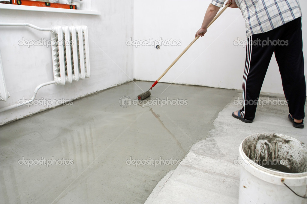 Fußboden Reparieren ~ Reparatur fußboden u stockfoto natvishenka