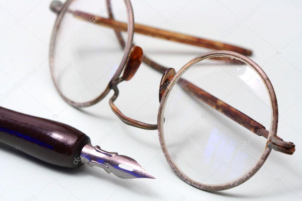 Alte Brillen