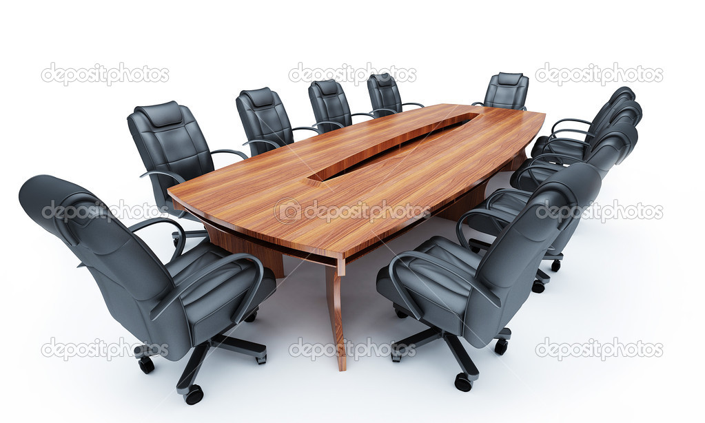 Furniture for a conference of halls