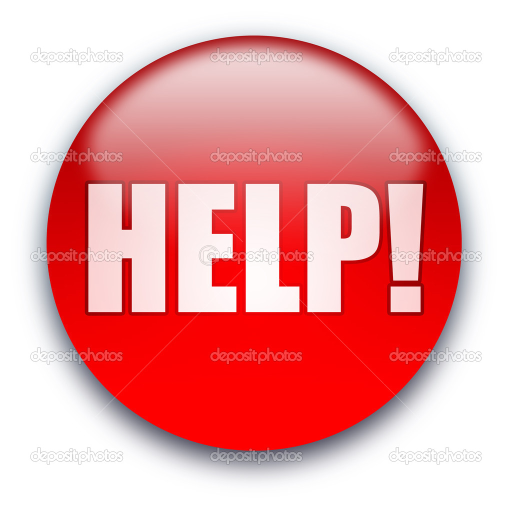 Help  Button  U2014 Stock Photo  U00a9 Grublee  1045263