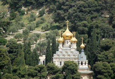 A russian orthoodox church in Jerusalem