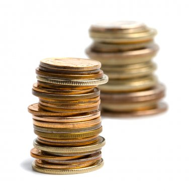 Two coins stacks