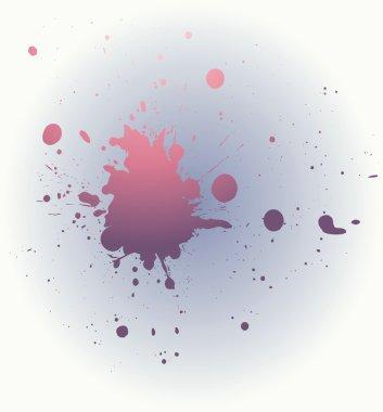 Combination of spots. Vector illustratio