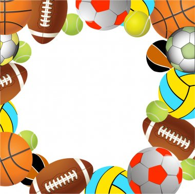 Football, volleyball, tennis and Rugby f