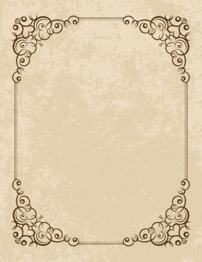 Vintage vector background.