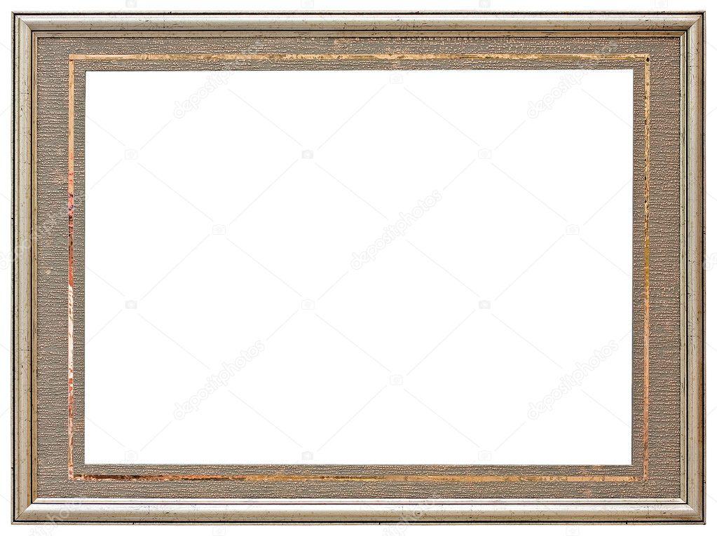 Ovale gold Bilderrahmen — Stockfoto © balaikin #1104955