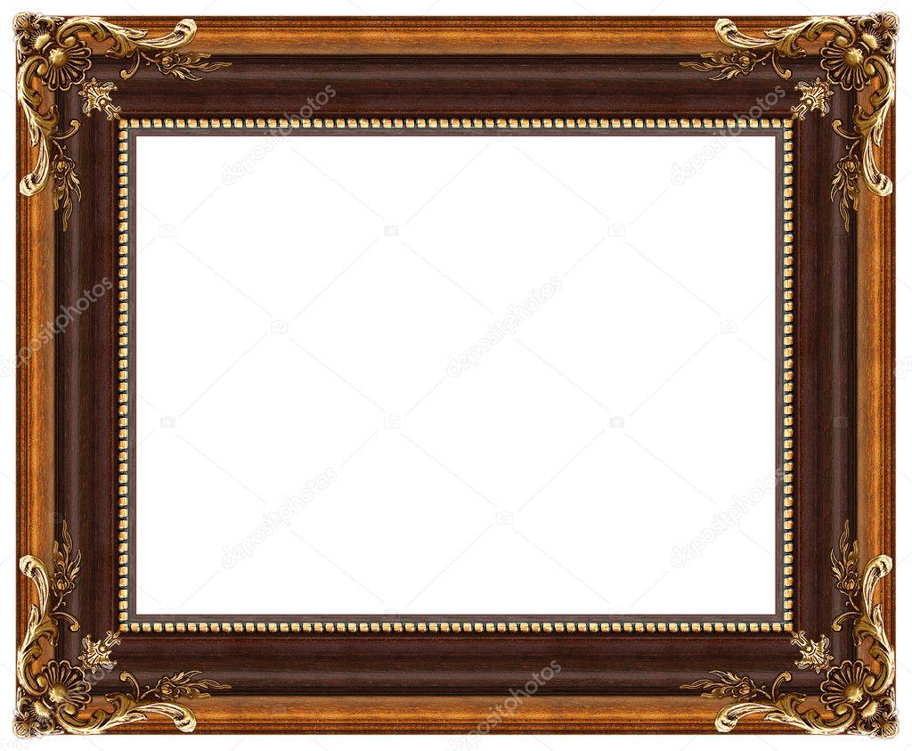 Ovale gold Bilderrahmen — Stockfoto © balaikin #1170910