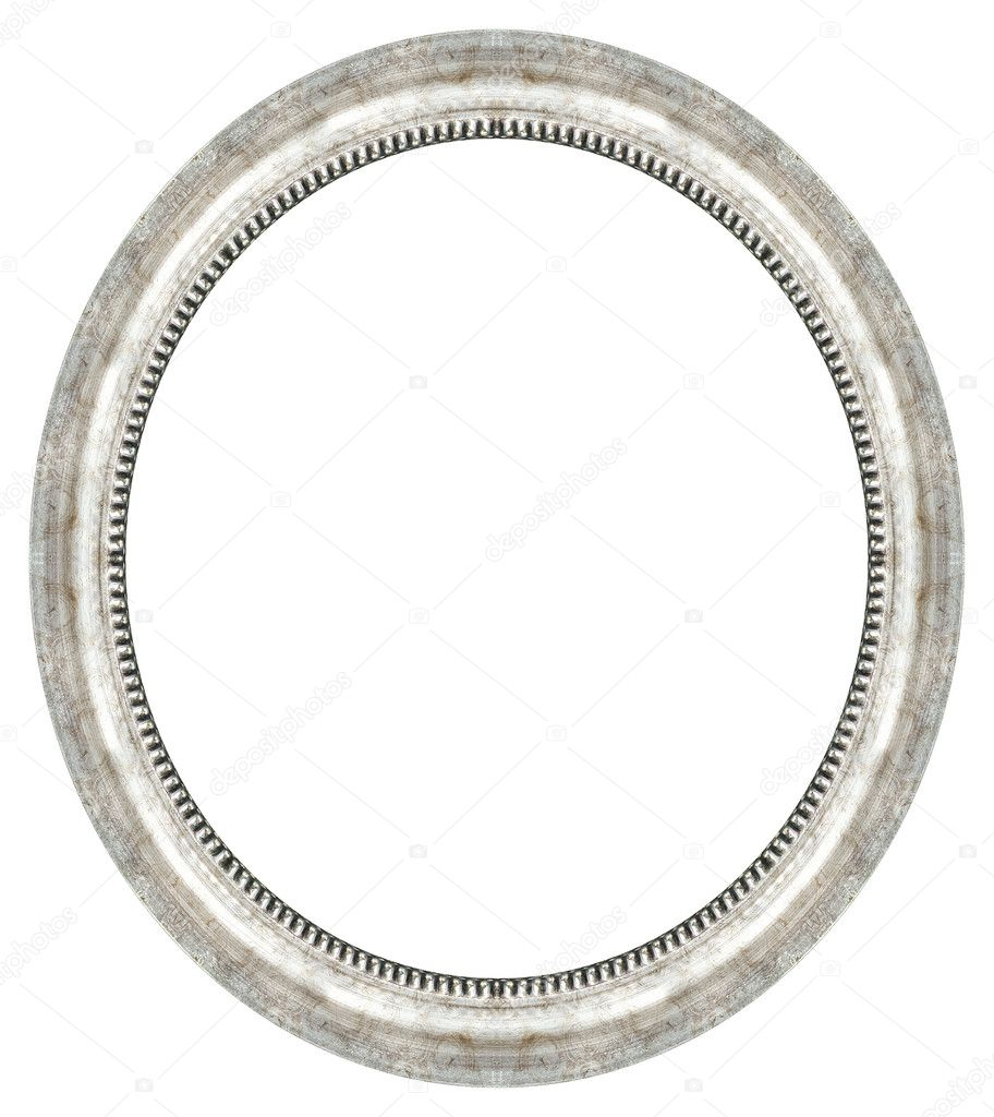 Ovale gold Bilderrahmen — Stockfoto © balaikin #1175154