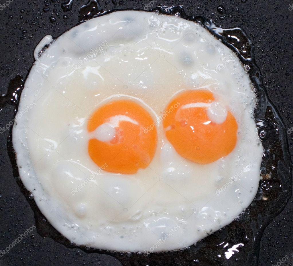 Yumurta pişirilir