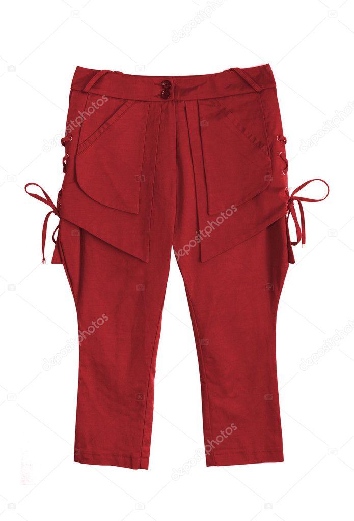 kurze rote hose