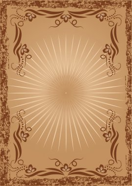 Background with ornament for various design artwork clip art vector