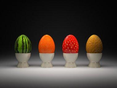 Fruit eggs