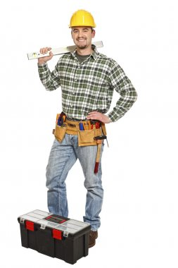 Manual worker and tools