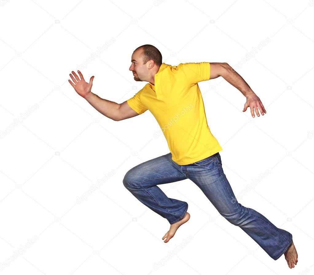 скачать бегущий человек игру