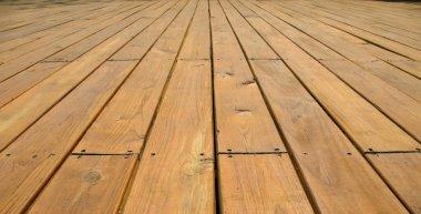 Wooden Platform Deck