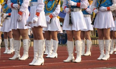 Girls Marching Band