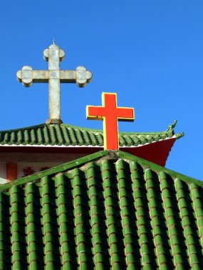 Catholic Church Roof