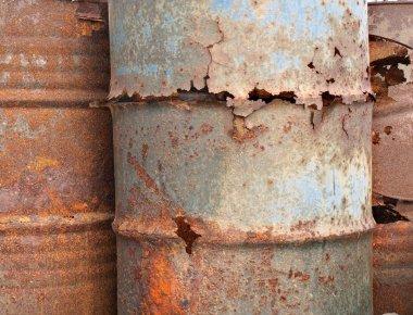 Corroded Barrels