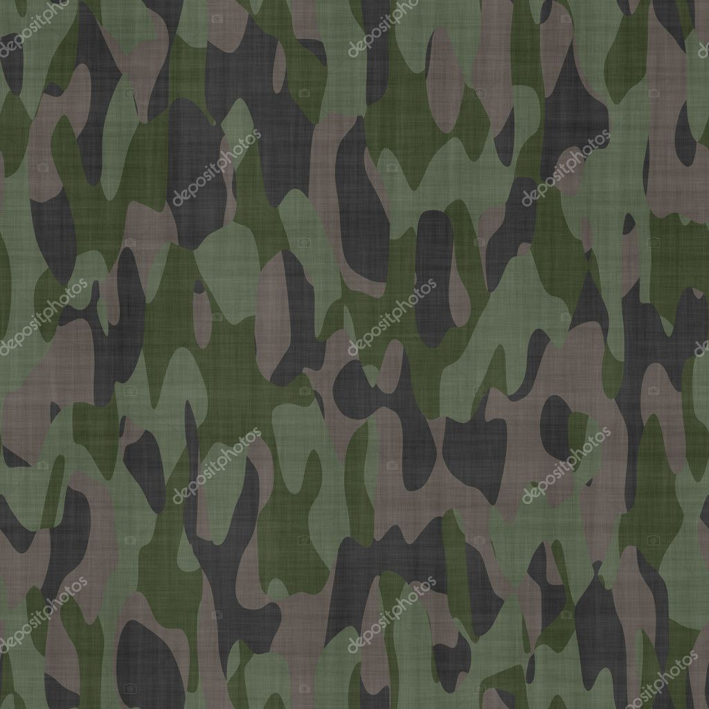 Camouflage Material Background Texture Stock Photo