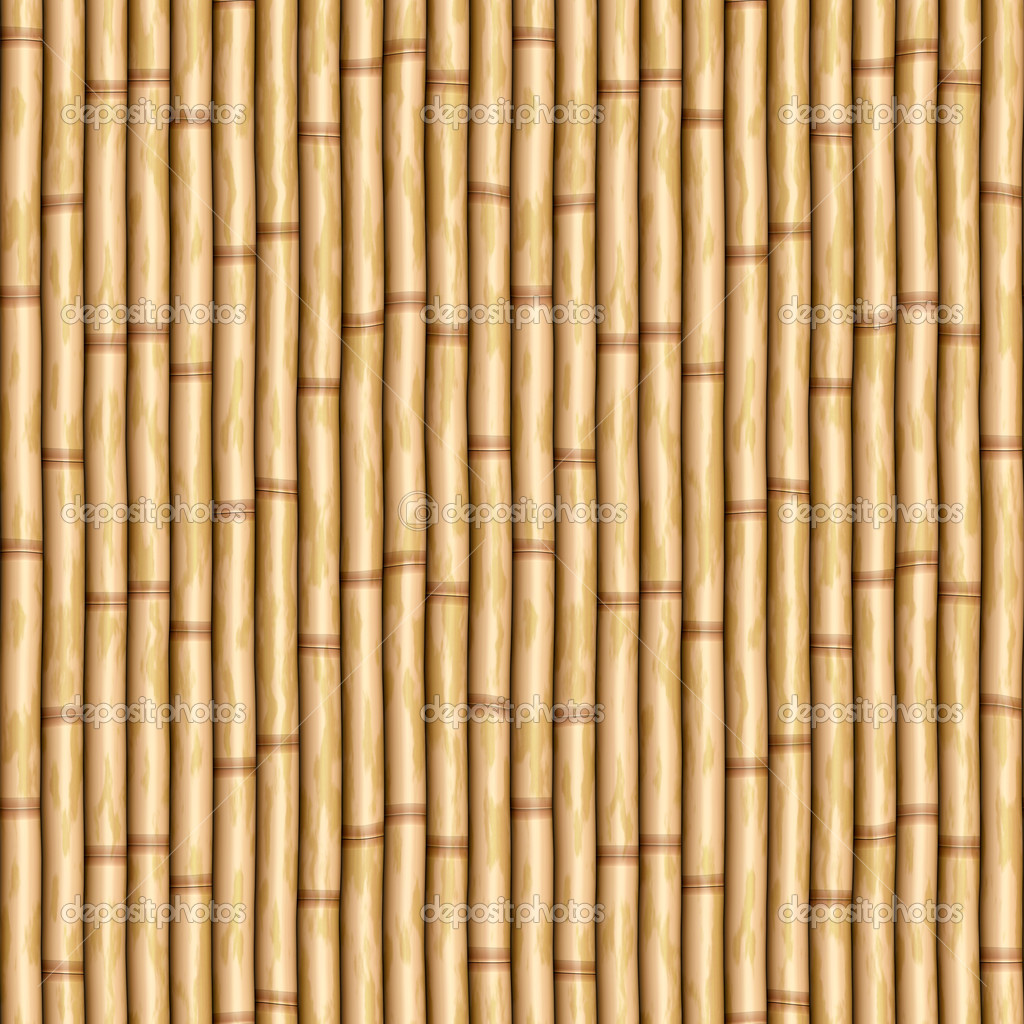 Bamboo wall — Stock Vector © clearviewstock #2602786