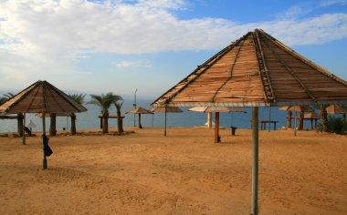 Dead sea beach, Jordan