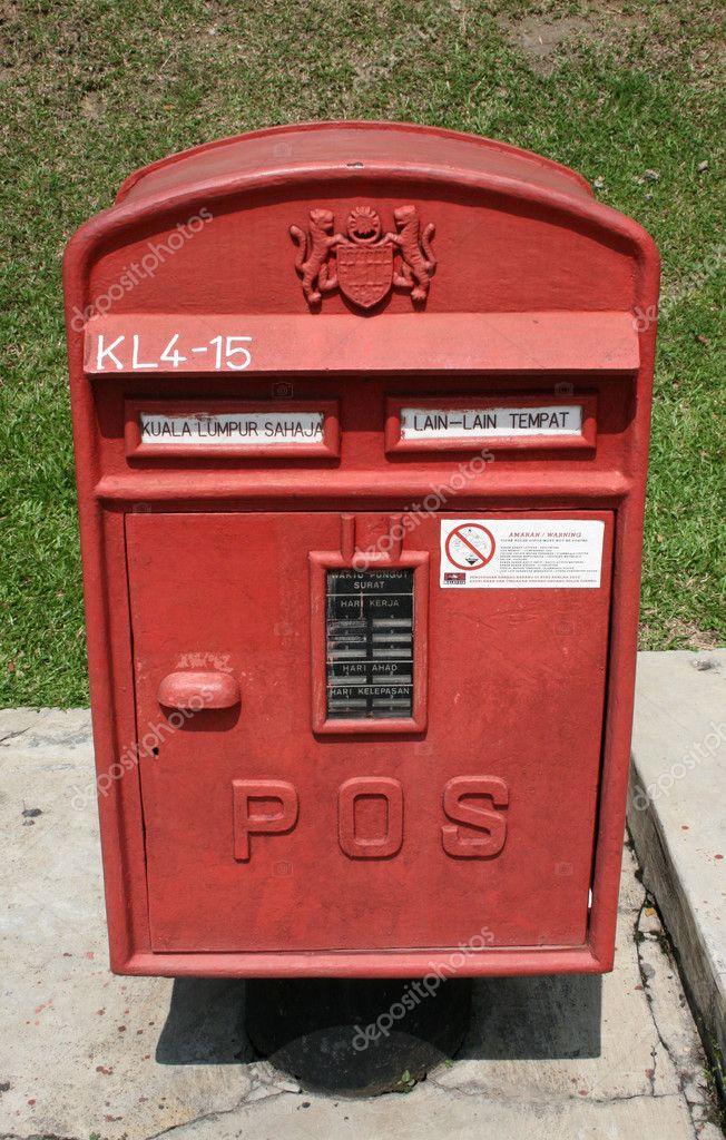 Post box Kuala Lumpur