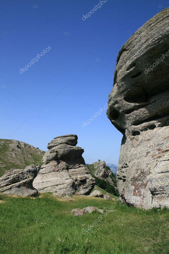 Rocky landscape