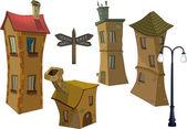 Fotografia piccole case