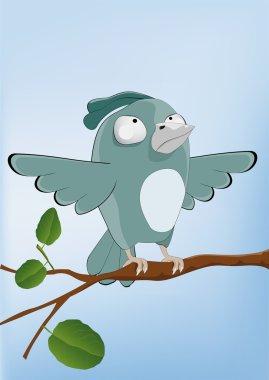 Bird malicious sparrow