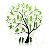 Fotografie Family tree, relatives