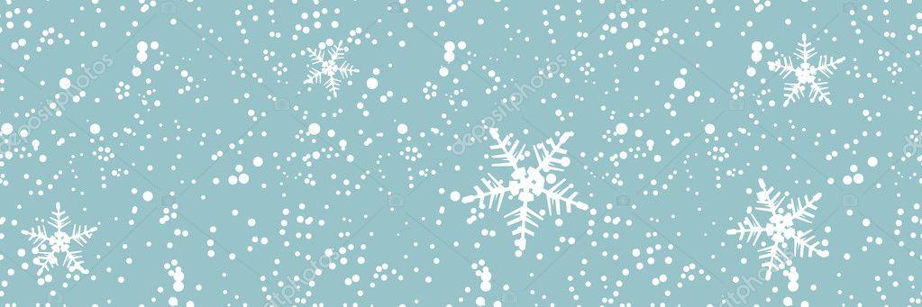 Winter blizzard, seamless background