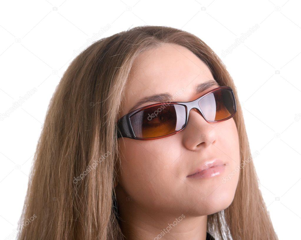 Фото с девушками в очках от солнца