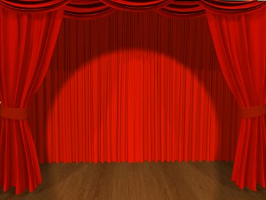 Theatrical curtain