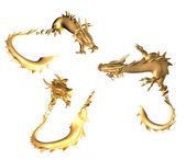 Goldene Drachen