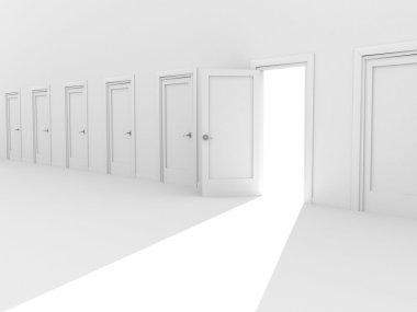 Open 3d door