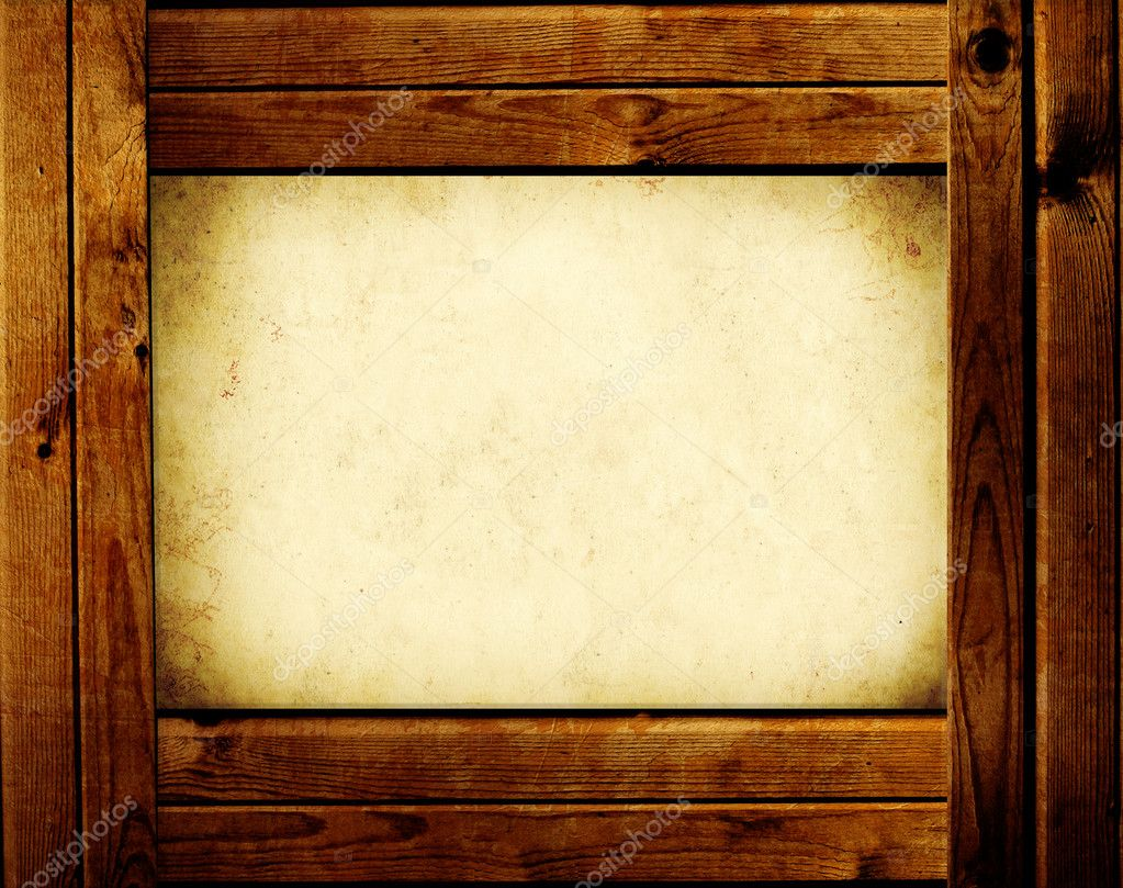 wooden frame object over white u2014 photo by frenta wooden picture frames - Wooden Picture Frames