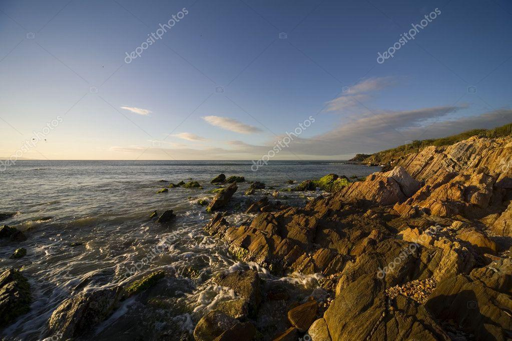 Sonnenuntergang Auf Der Insel Margarita Venezuela Stockfoto