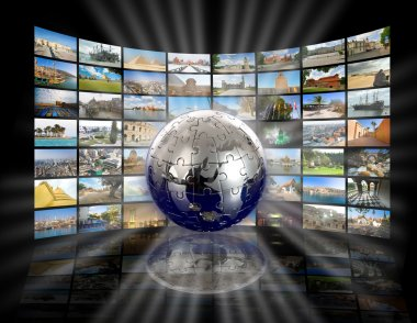 Television and internet technology