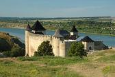 vecchio castello in hotyn, Ucraina