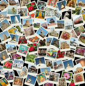 Fotografie Go Asia - background with travel photos