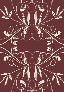 Elegance vintage pattern