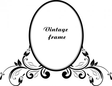 Vintage decor for text