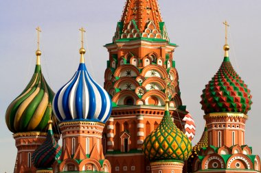 St. Basil Cathedral in Moscow, Russia