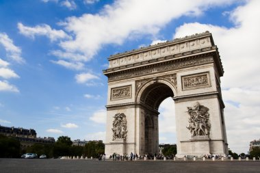 Arch of Triumph. Day time. Paric, France