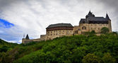 starý hrad na kopci